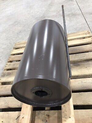 New Magnetic Conveyor Head Roller Pulley 14 Diameter By 26 Wide
