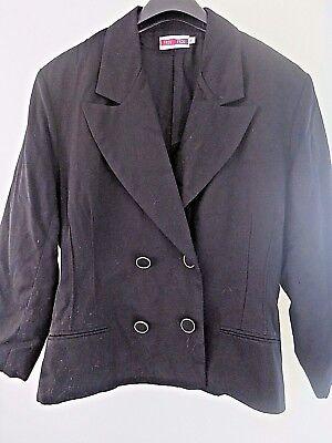 veste/blazer noir FROU FROU  M 38
