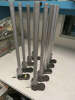 Ls Starrett Model 255-18 Vernier Height Gage 0-18 Range .001