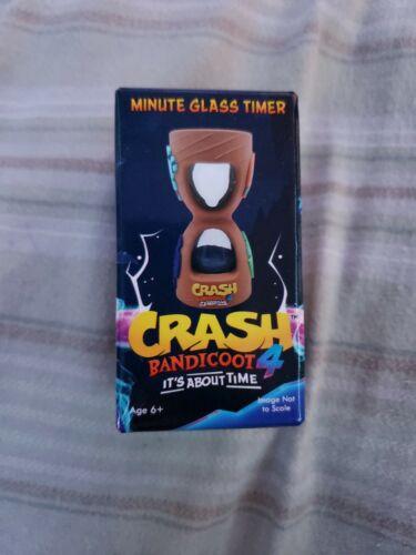 Crash Bandicoot 4 Minute Glass Timer Gamestop Pre-Order Bonus BRAND NEW