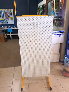 SHOP CLEAR OUT.. pin board display stand on legs double sided Kyogle Kyogle Area Preview