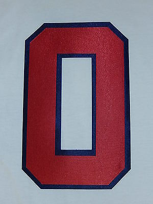 ATLANTA BRAVES Number KIT For Authentic HOME WHITE JERSEY Choose Any Number 0-9
