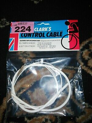NOS Vintage Bicycle Brake Cable Speedometer Gold Strap