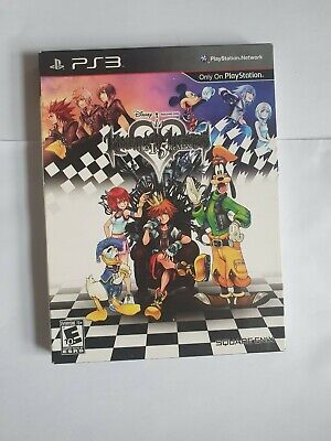 Kingdom Hearts HD 1.5 ReMix Limited Edition PS3 with Art book Multi region