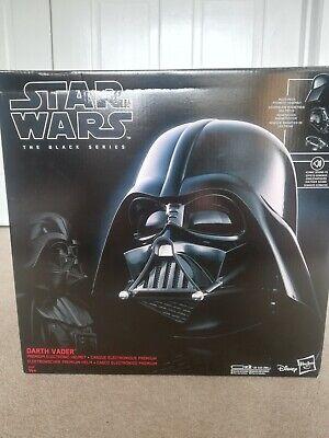 Star wars black series darth vader sound effect helmet.