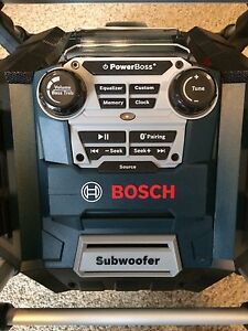 Bosch Work Radio (new)