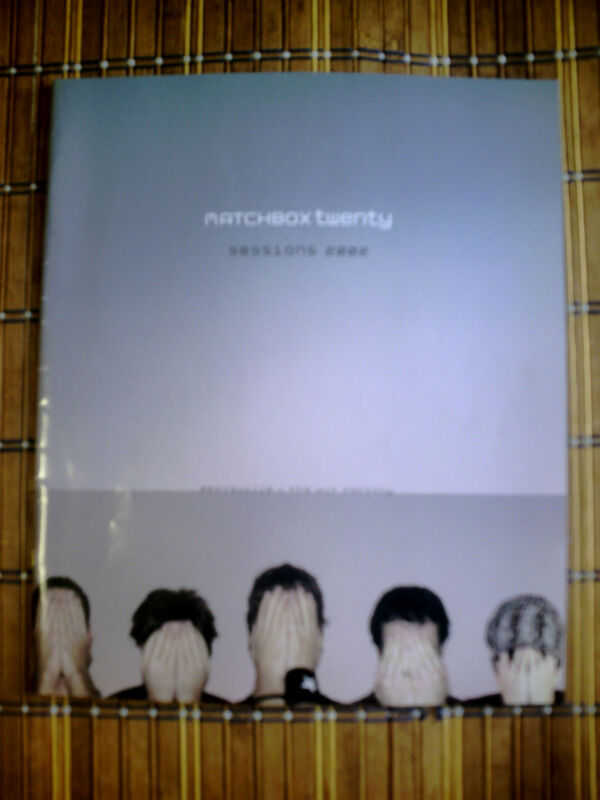 Matchbox Twenty Concert Program 2002  Rob Thomas  Sessions Tour