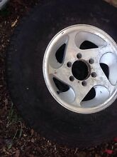 Trailer tyres and rims Palmwoods Maroochydore Area Preview