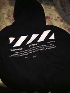 """Off-white """"for all"""" collection hoodie"""