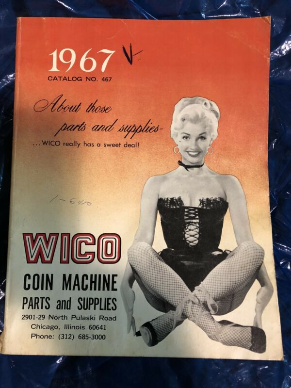 Wico 1967 Coin Machine Parts And Supplies Catalog
