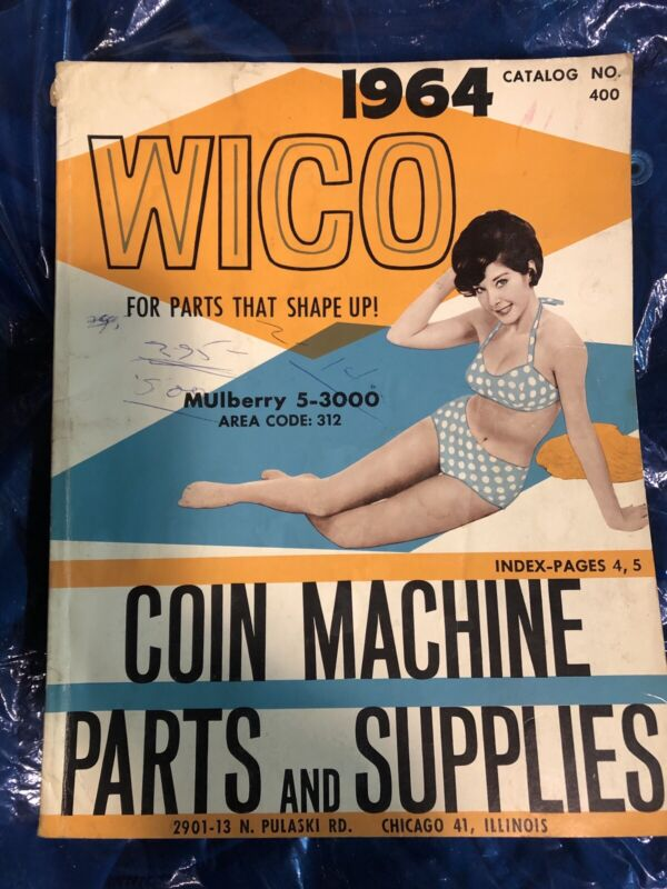 Wico 1964 Coin Machine Parts And Supplies Catalog