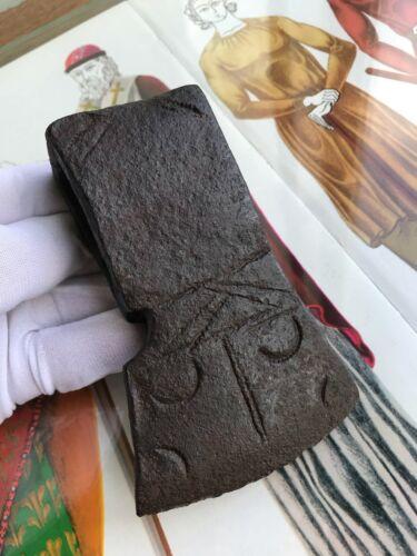 Ax double-sided ornament iron 15 -16 cent. Kievan Rus 11,7cm 650 gr.