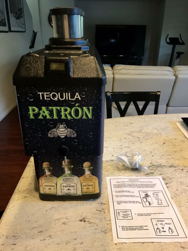 Patron Chilled Shot Dispenser Tap Machine-very Rare!!!