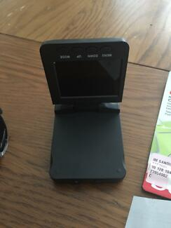 Dash camera with disc (never used)
