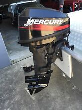 Mercury 15hp 2003 two stroke out board motor Clontarf Redcliffe Area Preview