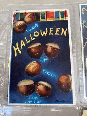 vintage pre- 1960 halloween postcards buy it now