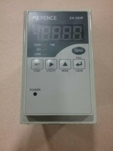 Keyence EX-V01P Instrumentation Amplifier with mount #68F4