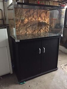 Reptile One 3ft Turtle Tank + Cabinet Stand Auchenflower Brisbane North West Preview