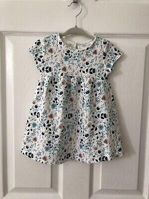 Zara Baby Girls Floral Summer Dress 18-24 Months