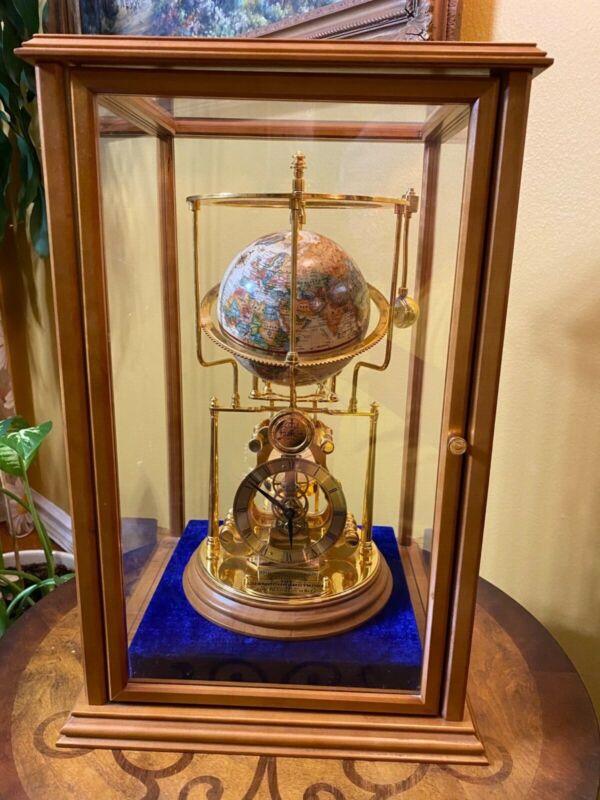 (RARE) Franklin Mint Smithsonian Institute The Cosmochronotrope Globe Clock
