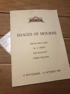 Narrow Water Gallery Images Of Mourne 1989 Exhibition Book, Warrenpoint Co. Down