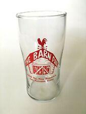 Vintage THE BARN DOOR Steakhouse BEER Soda GLASS TUMBLER ...