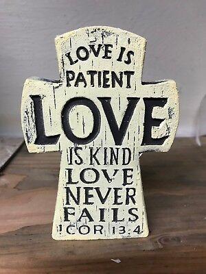 Cross - love is patient