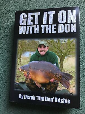 Get it on with the Don by Derek 'The Don' Ritchie Hardback carp book