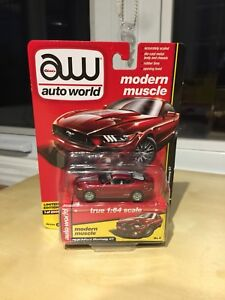 AutoWorld Diecast- 2017 Ford Mustang GT (1:64 scale) - $10