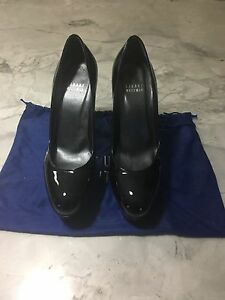 Black 6.5 Patent Leather Stuart Weitzman High Heels