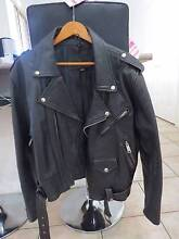 Jarvis Bond Men's Perfecto Style Motorcycle Cow Leather Jacket Ferny Grove Brisbane North West Preview
