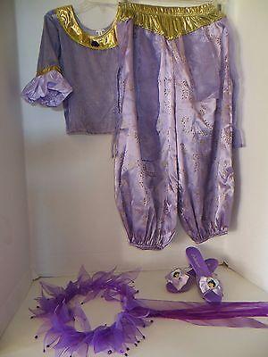 DISNEY PRINCESS JASMINE GIRLS COSTUME SIZE 4-6](Purple Jasmine Costume)
