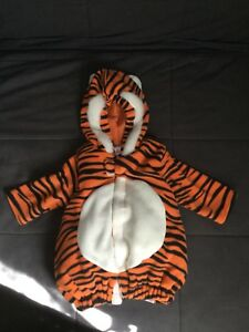 Baby Halloween tiger costume, 0-6 months