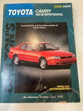 Toyota Camry 1983-96 Repair Manual by Chilton Wiring ...