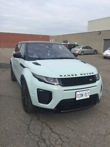 Land Rover Range Rover Evoque HSE - blacked out edition