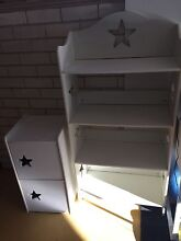 Children's white Star Bookcase and matching cabinet Engadine Sutherland Area Preview