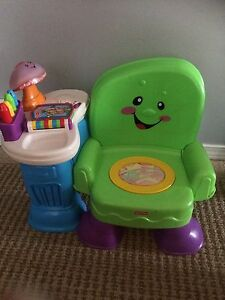 Fisher Price laugh and learn chair  Strathcona County Edmonton Area image 1