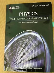 Physics year 11 atar wace study guide Bayswater Bayswater Area Preview