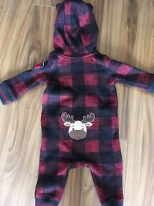 6-12 month fleece lined one piece.