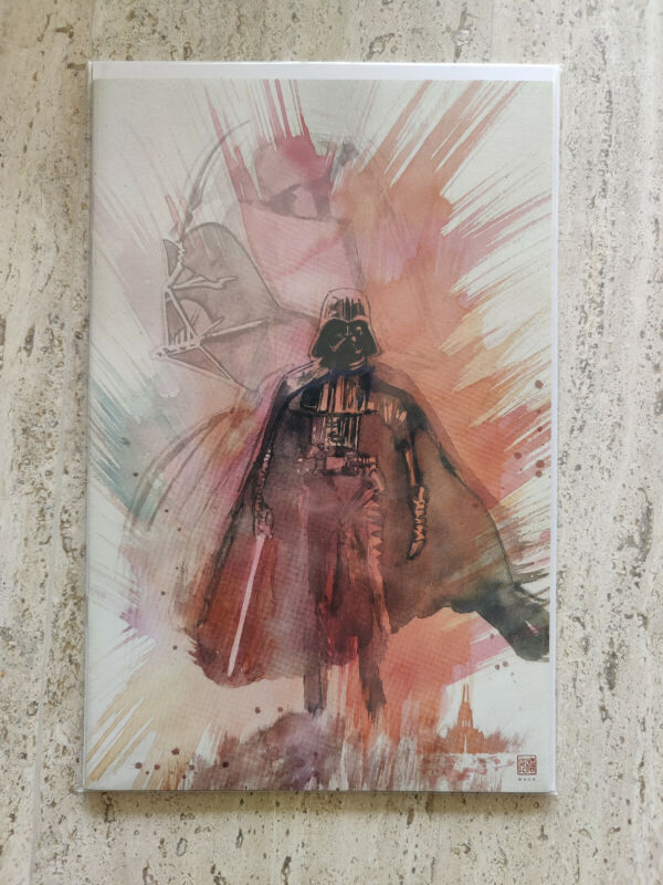 Star Wars Adventures Shadow of Vaders Castle 1 David Mack Virgin Cover