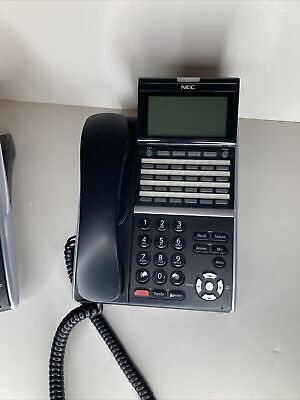 Nec Itz-24d-3 660004 Be113797 24 Button Voip Telephone W Display