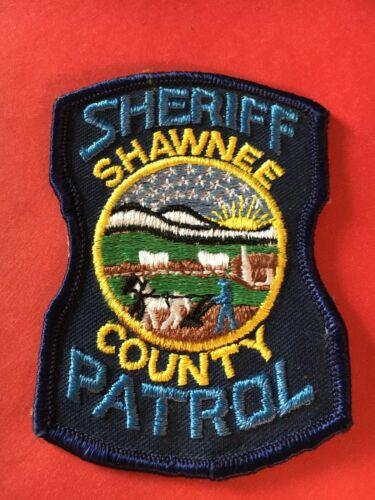Shawnee County Sheriff Patrol Kansas Police Patch Vintage