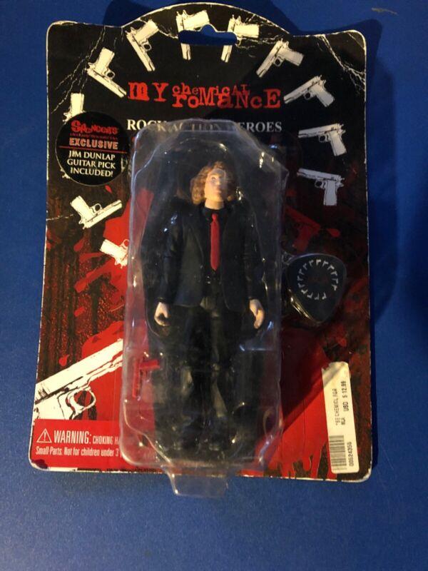 My Chemical Romance Figure Ray Toro Box Damage.