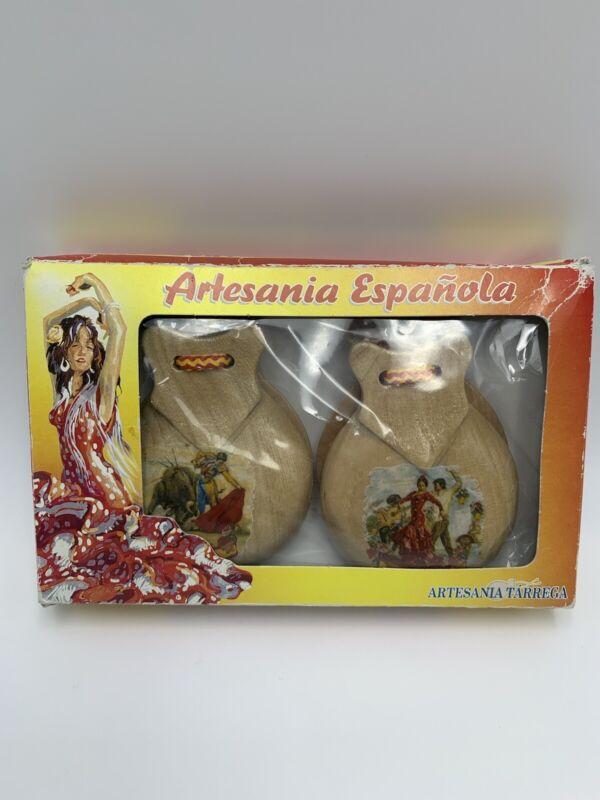 Flamenco Spanish Castanets Artesania Tarrega Made in Spain