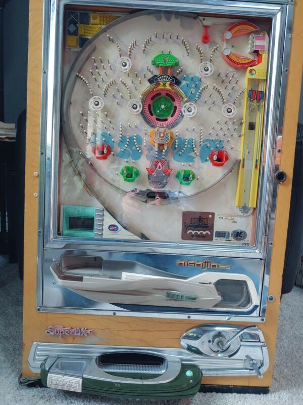 "Challenging Clean 1974 Vintage Nishijin ""Rolling Stone"" Model A Pachinko Machine"