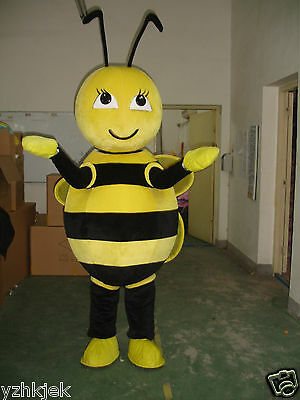 Kids Birthday party dress Bee Mascot Costume Unisex Adults Size Advertisement
