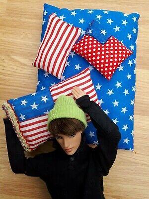 barbie ken doll accessories lounge cushions