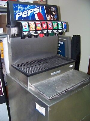 Soda Fountain Dispenser 8 Flavor Pepsi