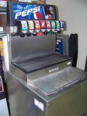 Soda Fountain Dispenser 8 Flavor Pepsi