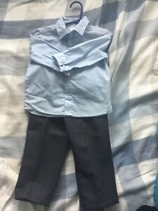Never worn dress shirt and pants. George 18-24 months